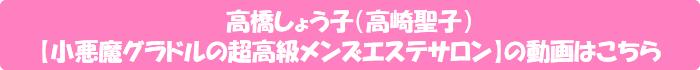 高橋しょう子(高崎聖子)【小悪魔グラドルの超高級メンズエステサロン】の動画はこちら